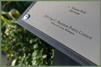 2015 plaque detail