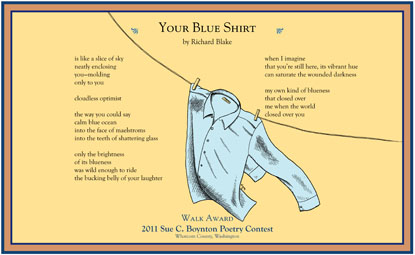 Richard Blake - Your Blue Shirt - 2011 Walk Award