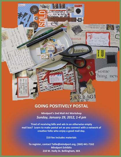 Mindport mail art poster