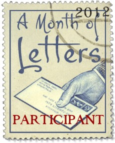 A Month of Letters Challenge