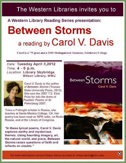 Carol V. Davis reading at WWU