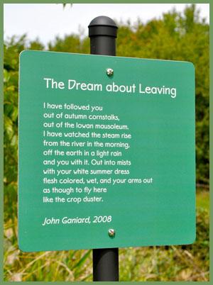 Ganiard poem on Michigan art walk