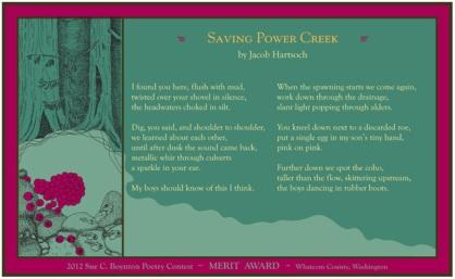 Jacob Hartsoch ~ Saving Power Creek