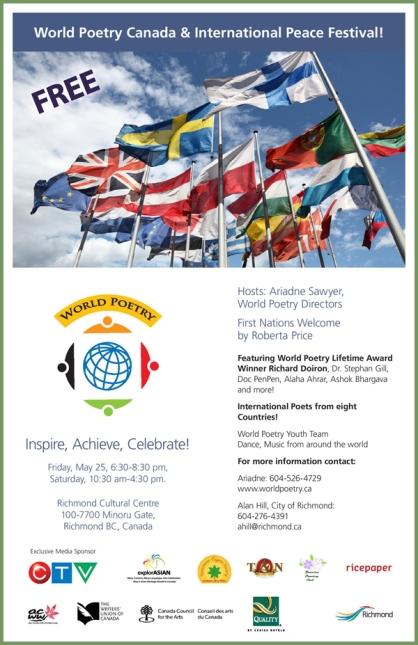 World Poetry Canada International Peace Festival 2012
