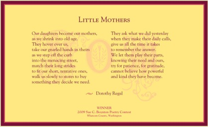 Dorothy Regal - Little Mothers