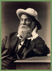 Walt Whitman portrait by G. Frank E. Pearsall