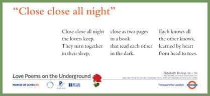 Elizabeth Bishop ~ Poems on the Underground