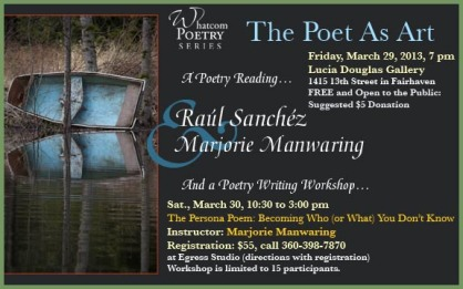 Poet As Art: Sanchez-Manwaring