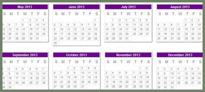 May-December 2013