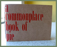 Kate Lebo - a commonplace book of pie