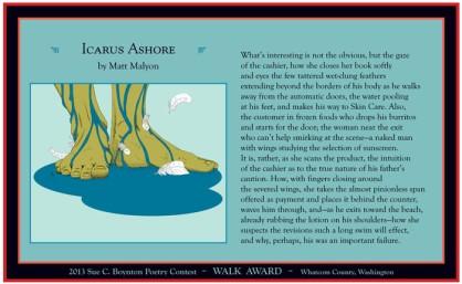 Icarus Ashore by Matt Malyon