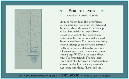 Andrew Shattuck McBride ~ Forgetfulness