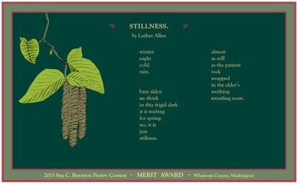 stillness by Luther Allen
