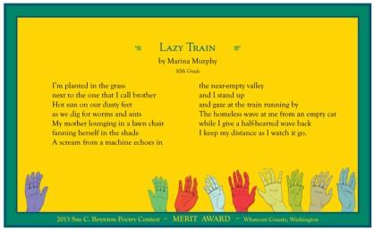 Marina Murphy - Lazy Train