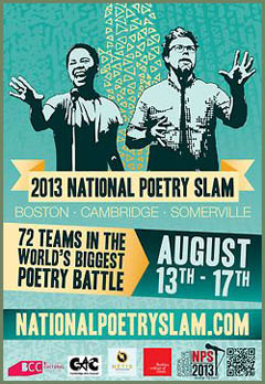 National Poetry Slam 2013 poster