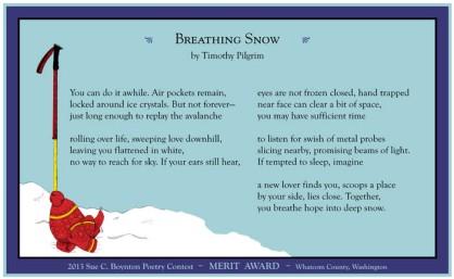 Timothy Pilgrim - Breathing Snow