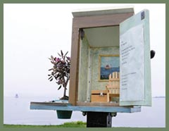 """Seaside Studio"" poetry box by J. Pavone & M. Dixon"