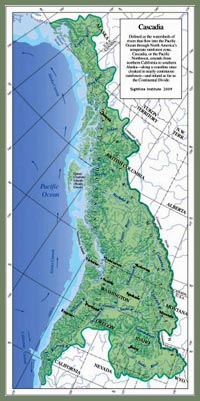 Cascadia map - Sightline Institute