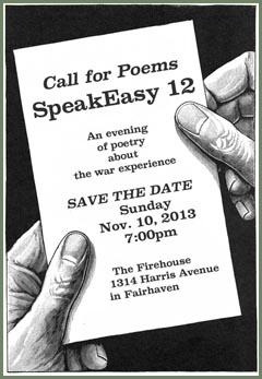 SpeakEasy 12 call for poems