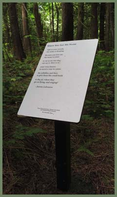 Jeanne Lohmann Poetry Trail