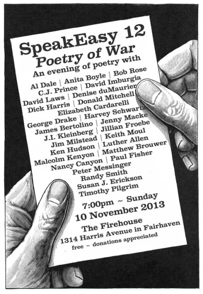 SpeakEasy 12: the Poetry of War