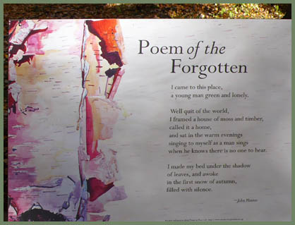 Haines - Poem of the Forgotten