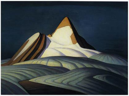 Lawren Harris - Isolation Peak
