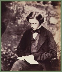Lewis Carroll (Charles Lutwidge Dodgson) self-portrait, 1857