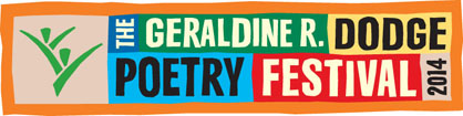 Geraldine R. Dodge Poetry Festival 2014