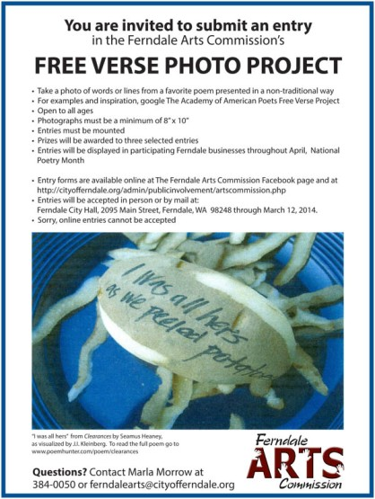 Free Verse call for poems