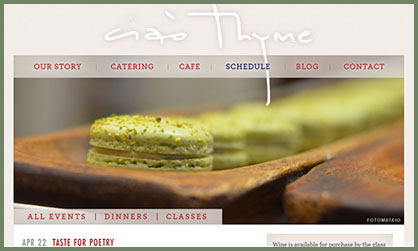Ciao Thyme - Taste for Poetry