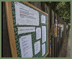 Poetry Fence