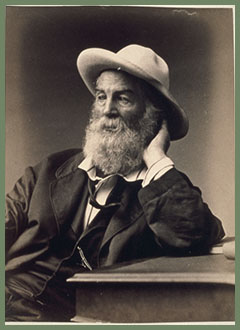 Walt Whitman by Frank E. Pearsall