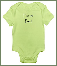 Future Poet infant bodysuit