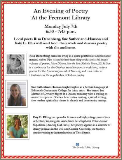 July 7 reading - Floating Bridge