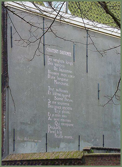 The Wall Poems - Leiden, Netherlands