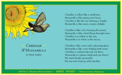 Brett Larkin - Cheddar and Mozzarella