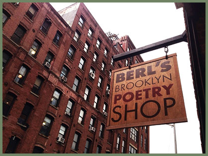 poetry bookstore