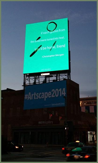 Baltimore LED Art Billboards