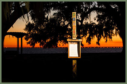 Mandeville, Louisiana, poetry box