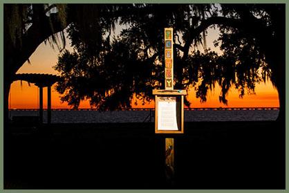 Mandeville, Louisiana, poetry box