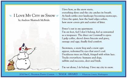 Andrew Shattuck McBride - I Love My City in Snow