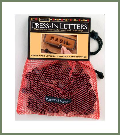 Press-in Letters
