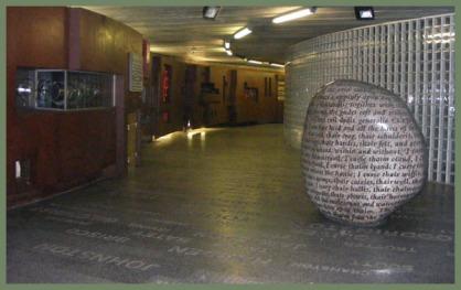 Millennium Bridge Subway, Carlisle, England