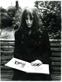 Patti Smith photo by Angelo Cricchi
