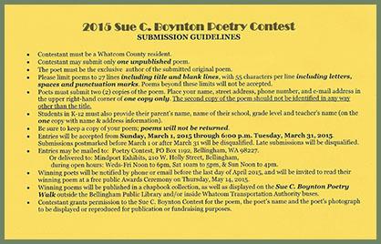 Boynton Contest guidelines