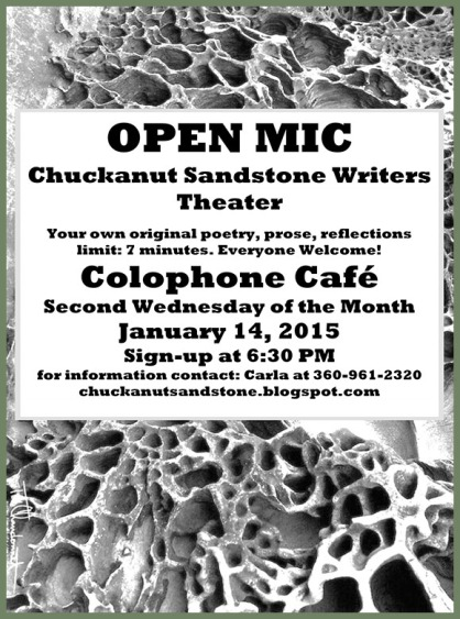 Chuckanut Sandstone Writers