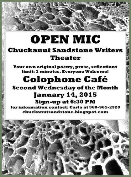 Chuckanut Sandstone Writers