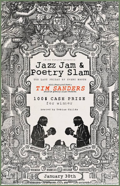 Jazz Jam and Poetry Slam