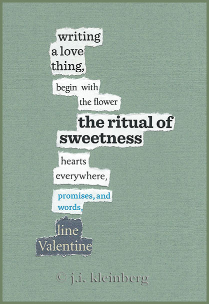 found poem © j.i. kleinberg ~ writing